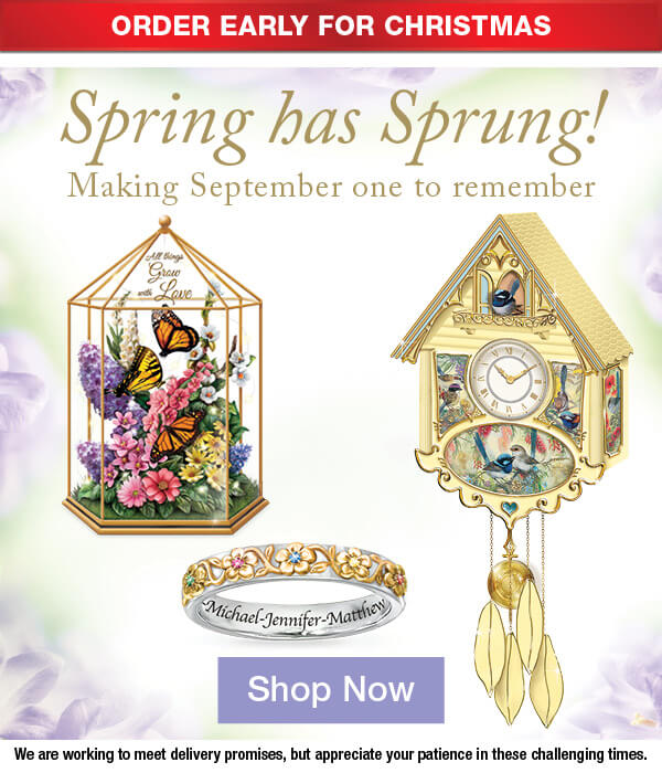 Spring has Sprung! Making September one to Remember